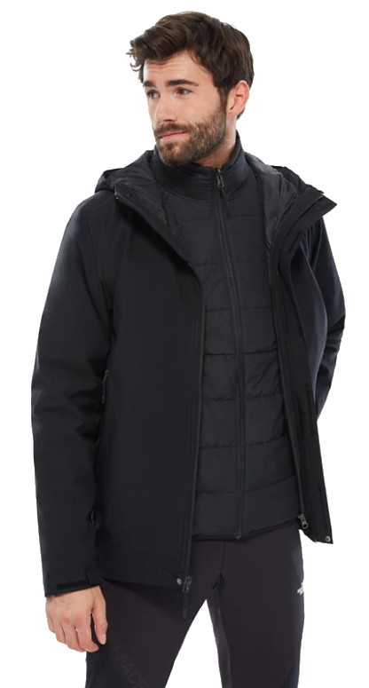 The North Face M Carto Triclimate black