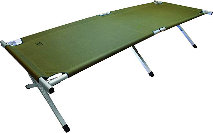 Highlander Aluminium Camp Bed
