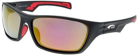 Goggle Effron MattBlack Red Mirror