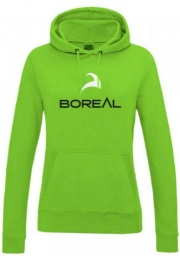 Boreal Sudadera Chica Logo verde