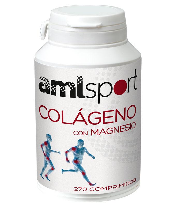 AML Sport Colágeno con Magnesio 270 comp