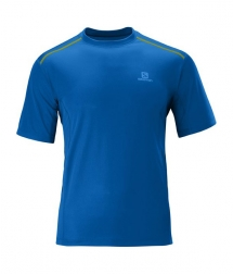 Salomon Trail Tee M blue