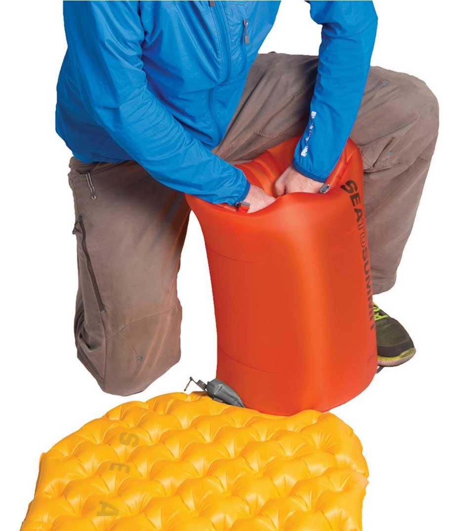 Sea to Summit Air Stream Dry Sack naranja