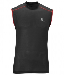 Salomon Trail Runner Tank M black