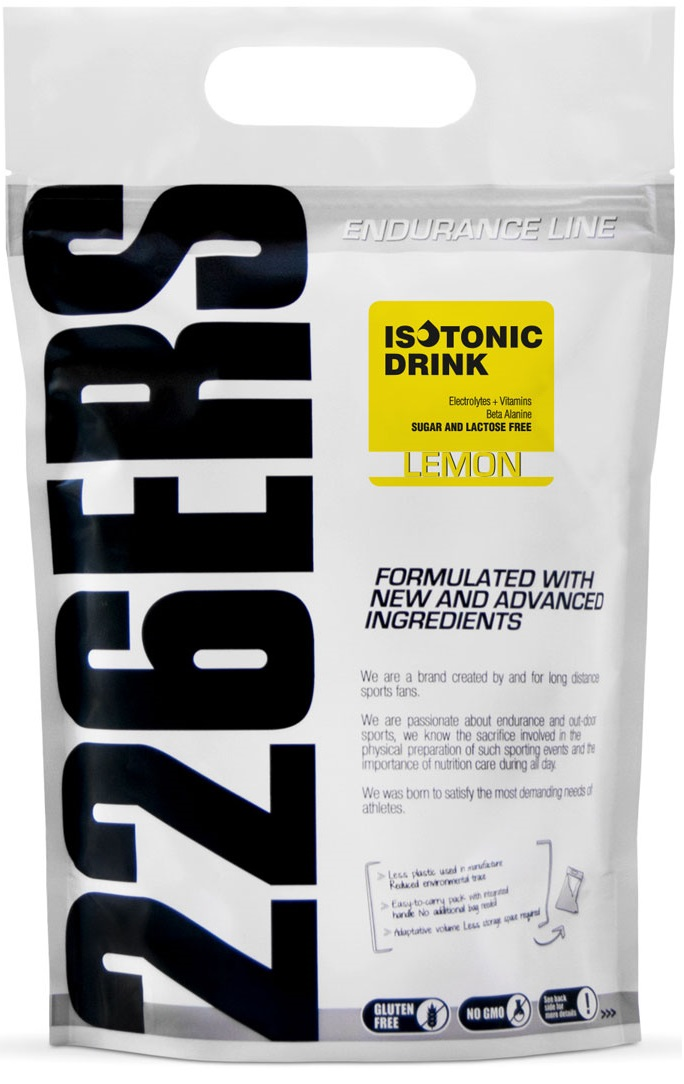 226ers Isotonic Drink Lemon 1000 grs.