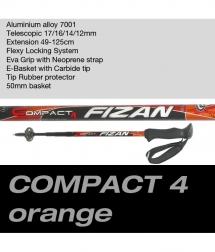 Fizan Compact 4 orange/black