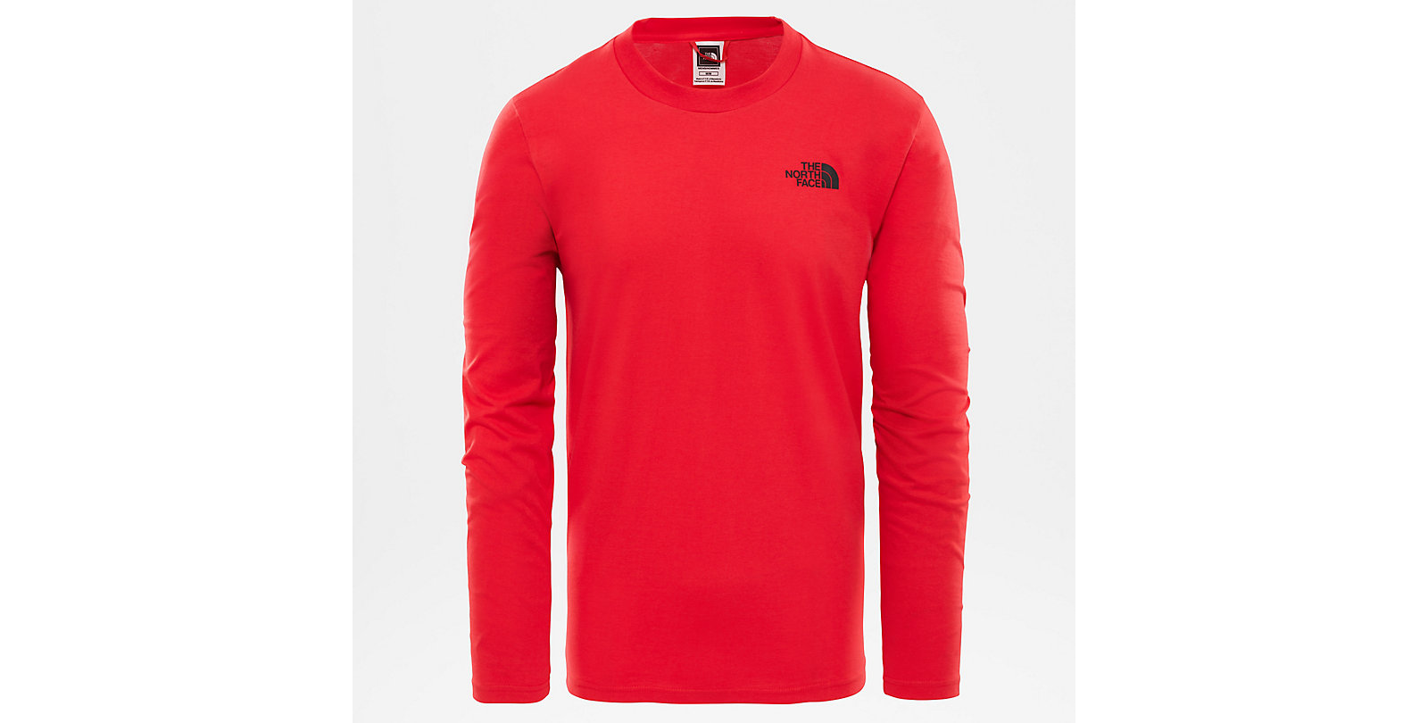 The North Face Easy Tee red black