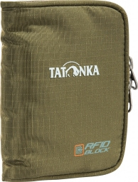 Tatonka Zip Money Box RFID B olive