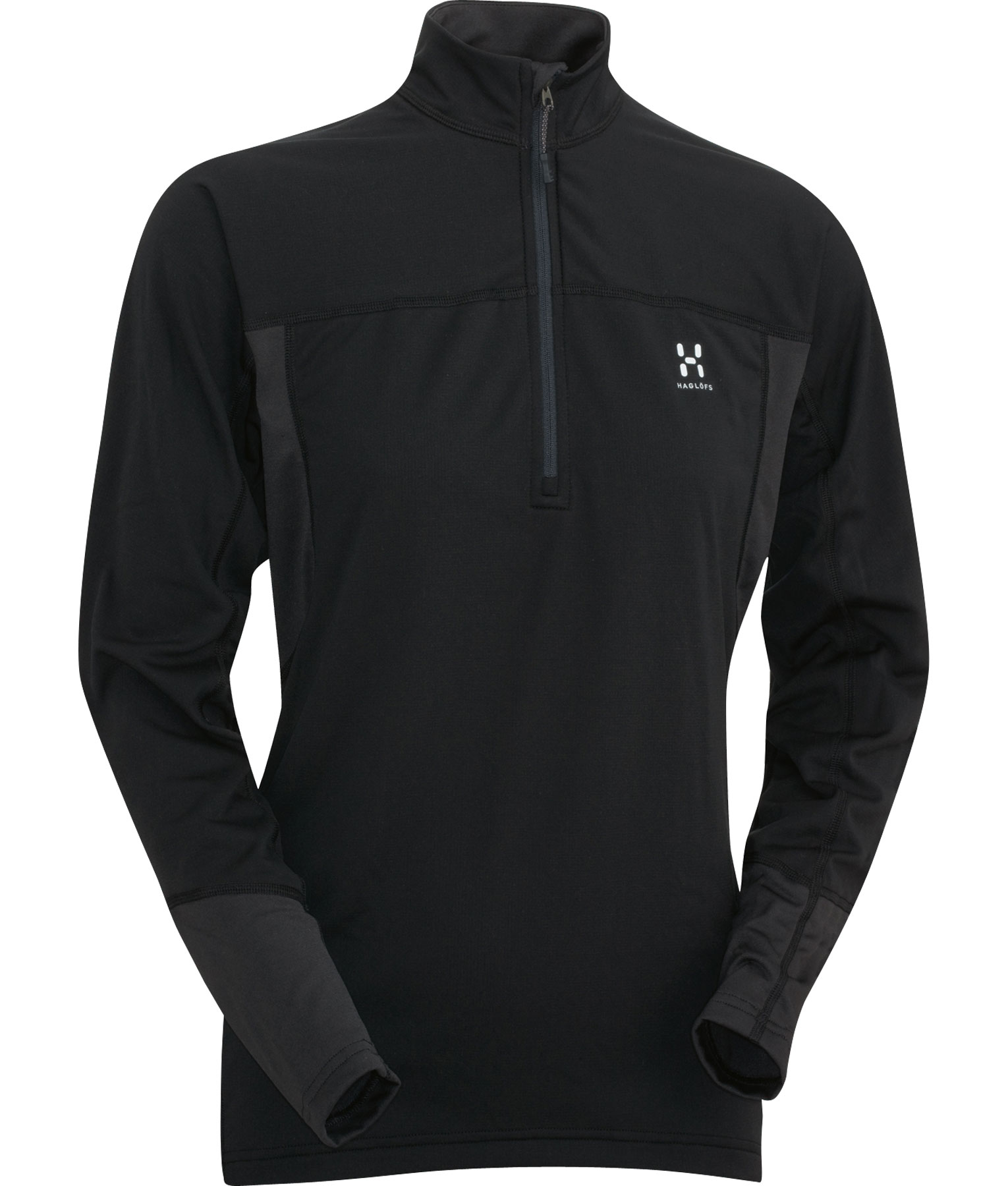 Haglöfs Actives Regular Q Zip Top black