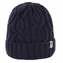 TNF Cable Minna Beanie montague blue