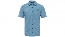 TNF M S/S Hypress Shirt blue coral