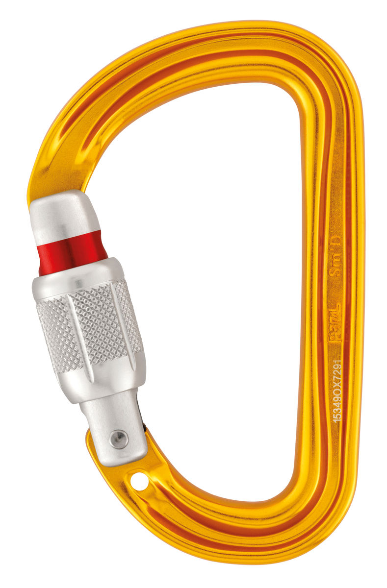 Petzl Mosqueton Sm´D Screw Lock