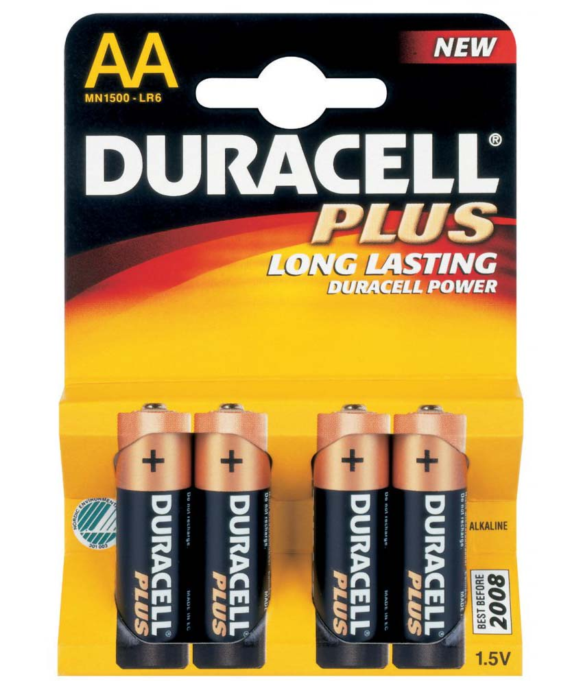 Duracell AA 1,5V-LR06 x 4 alk.