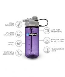 Nalgene Botella Multidrink Lila 600 ml