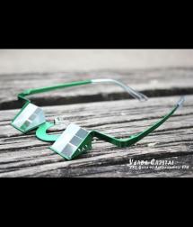 Y&Y Gafas de Asegurar verde cristal