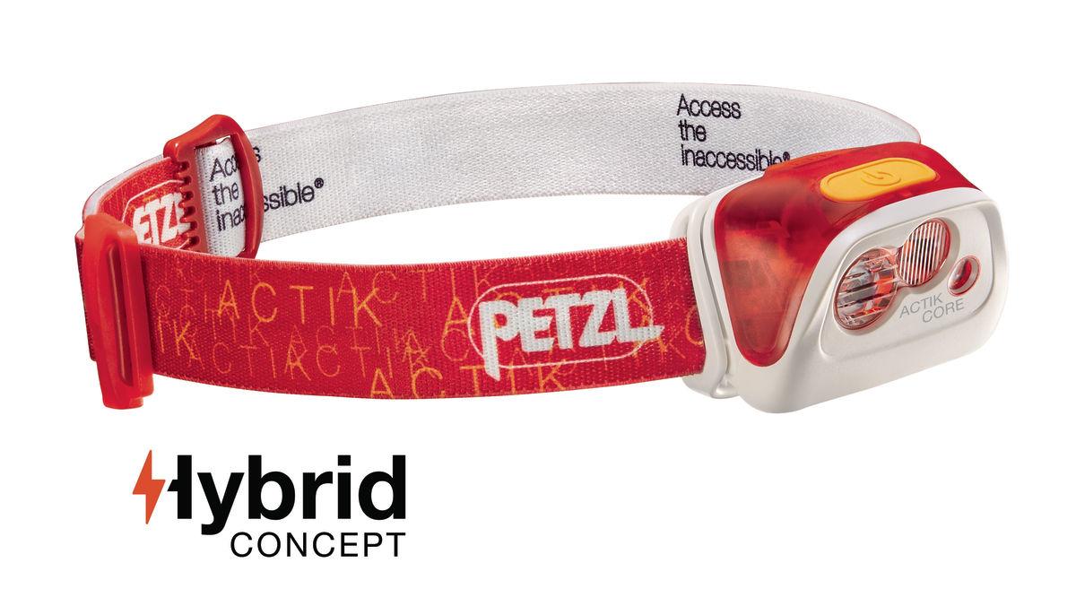 Petzl Actik Core rojo