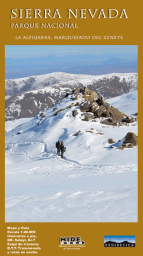 Mapa-Guía P.N. de Sierra Nevada