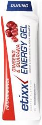 Etixx Ginseng & Guaraná Energy Gel Red Current 50g