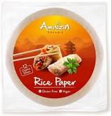 papel de arroz 110g amaizin