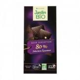 Chocolate 80% cacao seleccion Ecuador Jardin Bio 100 g