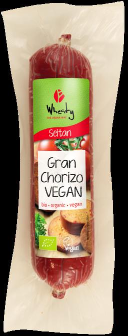 Chorizo de Seitán 200g Wheaty BIo