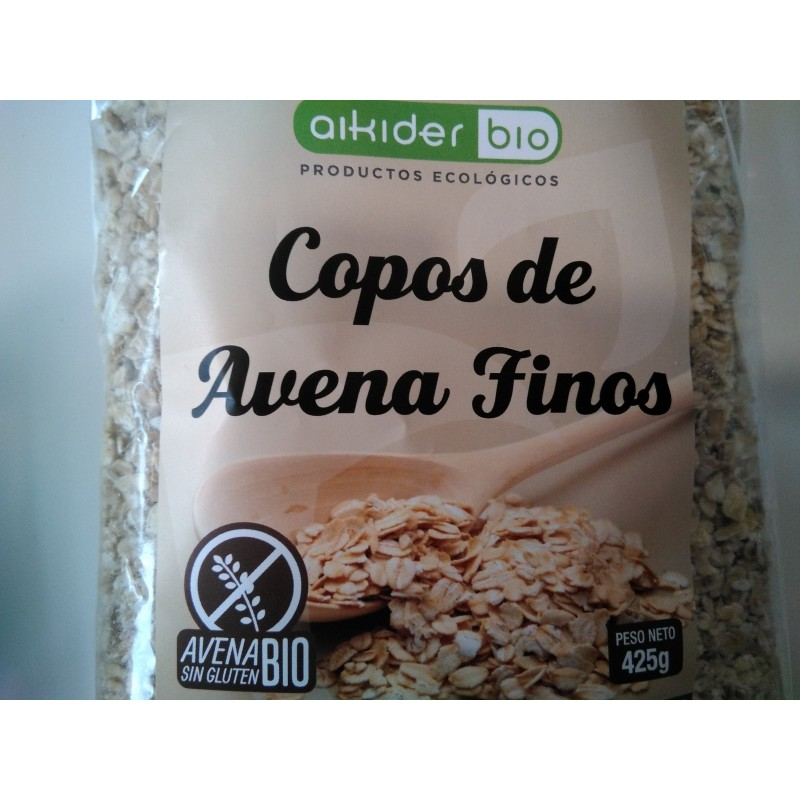 Copos de avena finos Sin Gluten Bio 425 gr