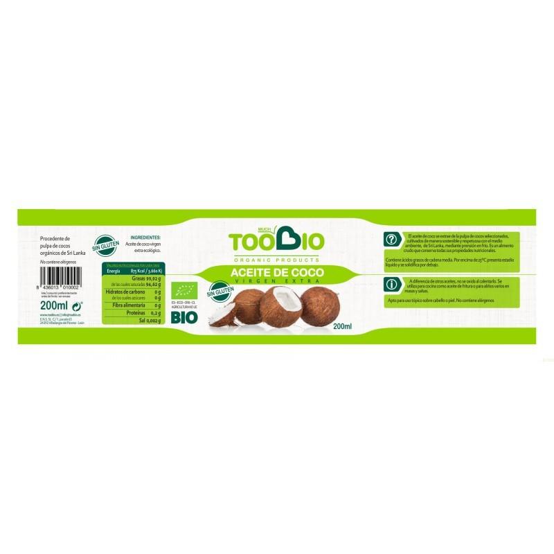 Aceite de Coco 200g bio
