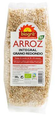 Arroz Integral Redondo 500 gr