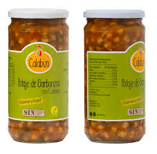 Potaje de garbanzos con calabizo 720ml