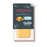 Lonchas veganas queso con pimientos picantes 200 gr