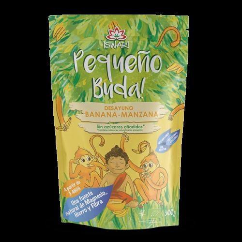 Pequeño Buda Banana  Manzana Bio 330 gr