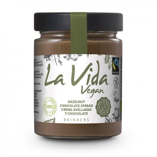 Crema chocolate avellana La Vida Ve 270gr bio