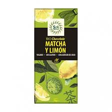 Chocolate macha y limon 70g sol natural