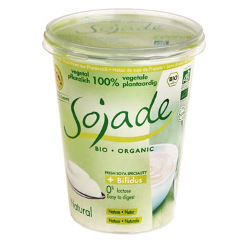 Yogur Natural de Soja 400g