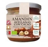 Crema de Avellanas Con Cacao Bio 330 gr