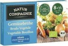 Cubitos de verduras bajos en sal Bio