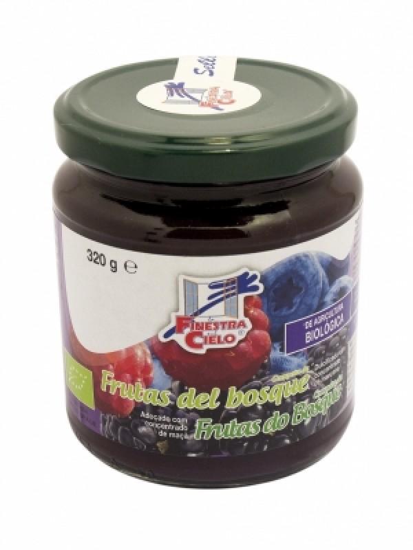 Compota de Frutas del Bosque Bio 320 gr