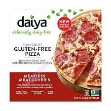 Pizza meatless lovers daiya