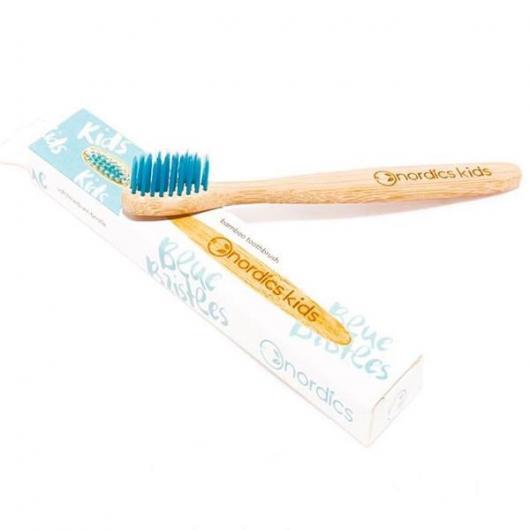 Cepillo dental niños bambu- azul Nordics