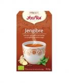 Infusión de Jengibre y Pimienta negra Eco Yogi Tea