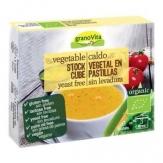 Caldo vegetal en pastillas x6 cubos