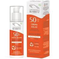 Crema solar facial 50 biarritz