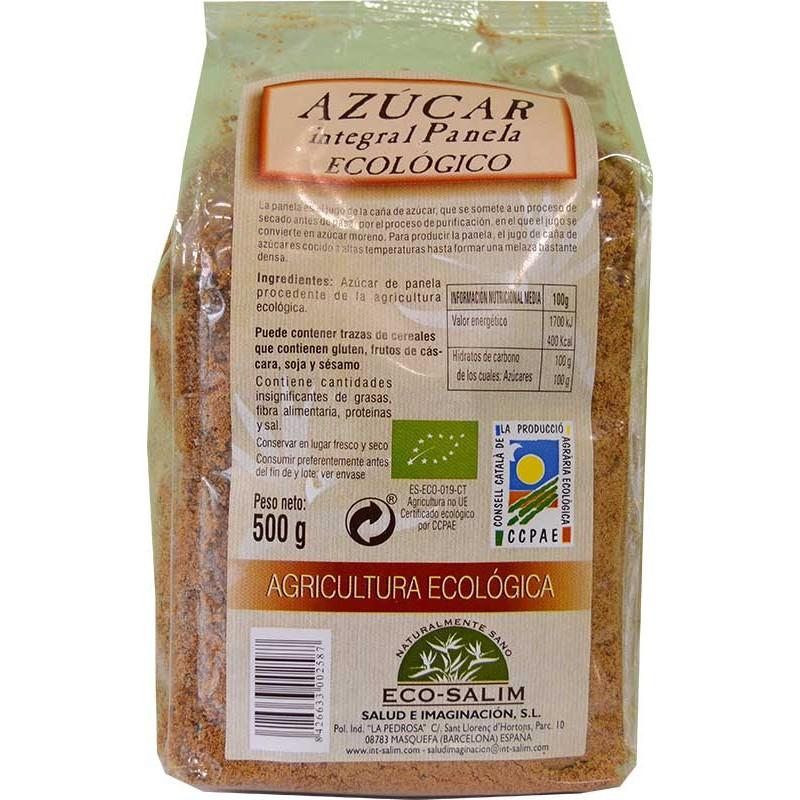 Azúcar integral ecológica 500 gr