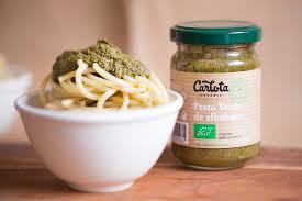 Pesto verde de albahaca carlota 140g