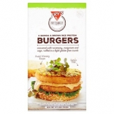 Hamburguesa proteína de arrroz con quinoa 320 gr