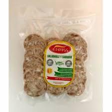 Salchichon seco lonchas 100g iezeress