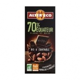 chocolate 70% ecuador 100g alter eco