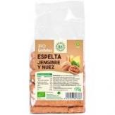 Galletas De Espelta Con Jengibre Y Nueces