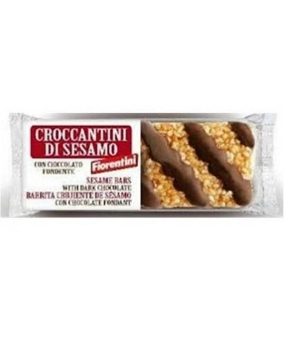 Crocanti de sesamo con chocolate
