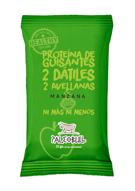 Paleobull barrita proteica vegana